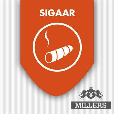 Sigaar silverline liquid Millers juice