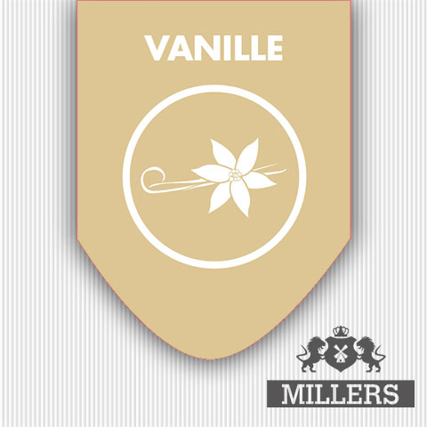 Vanille liquid Millers juice silverline