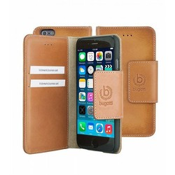 Bugatti BookCover Amsterdam iPhone 6 Plus - cognac
