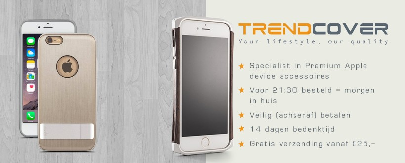 premium accessoires voor Apple devices