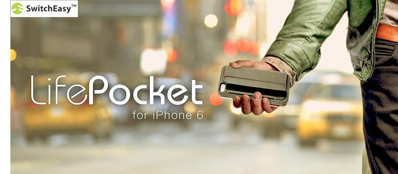 Switcheasy iphone 6 lifepocket