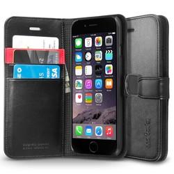 Spigen iPhone 6 Case Wallet S - Black