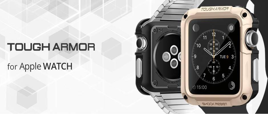 Spigen Tough Armor case Apple watch