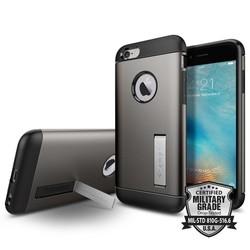 Spigen Slim Armor iPhone 6 / 6s case - Gun metal