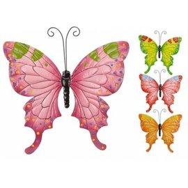 Pro Garden Metalen Vlinder