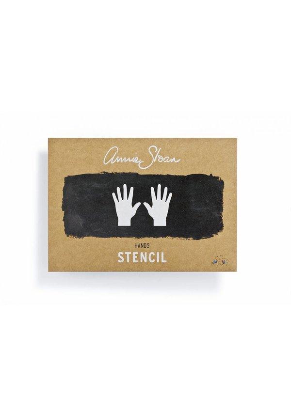 Schablone Hands