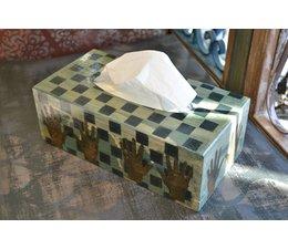 Tissue Box-Hand-Square
