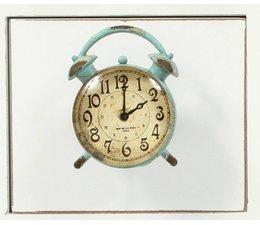 Knopf aus Metal Uhr