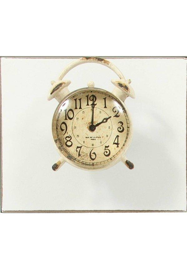 Knobs Vintage metall Clock