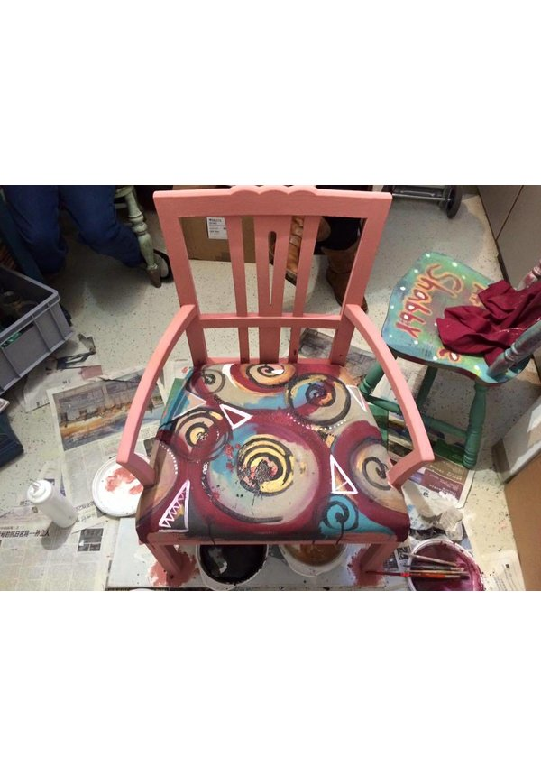 Hand painted Furniture gathering in 2018