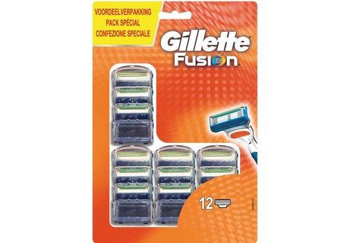 Gillette Gillette Fusion 12 stuks