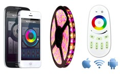 AppLamp Wifi Kit RGBW Color + Warm White LED strip (300 LED's)