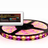 RGBW LED strip 300 LED's, controllable via Wifi & RF remote (Add-on)