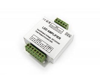RGBW Ledstrip Signal Amplifier 4x 6Amp