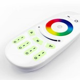 Wireless RGB Ledstrip controller with multi channel RF remote Control, 18A, 12V-24V
