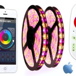 AppLamp Wifi Kit + 10 meter RGBW Color & Warm White LED strip