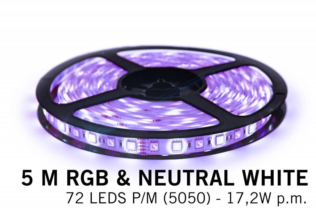 AppLamp AppLamp WiFi RGBW Ledstrip set, Color + Neutral White (360 LED's)