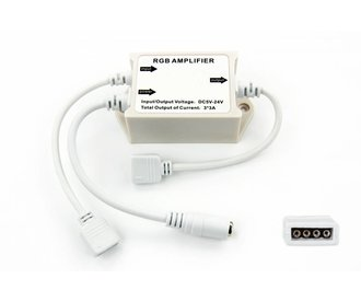 AppLamp RGB Ledstrip amplifier. 4-pins 3 x 3 Ampere