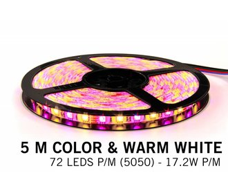 RGBW LED strip 360 LED's 86W 12V 5 meter