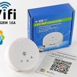 LED Magical Wi-Fi RGB & Wi-Fi RGBW controller with clock timer function!