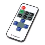 Mini single color LED strip dimmer with RF remote control