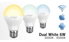 -20% Week Offer! Dual White Wifi LED bulb (6W LED)