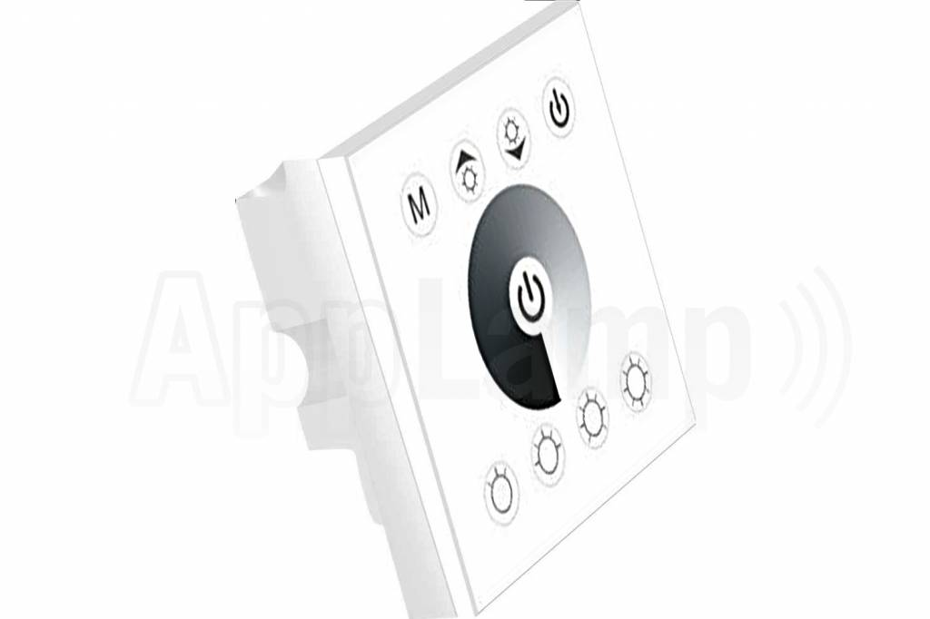 Led Strip Recessed Wall Dimmer Touch Panel 12 24v White