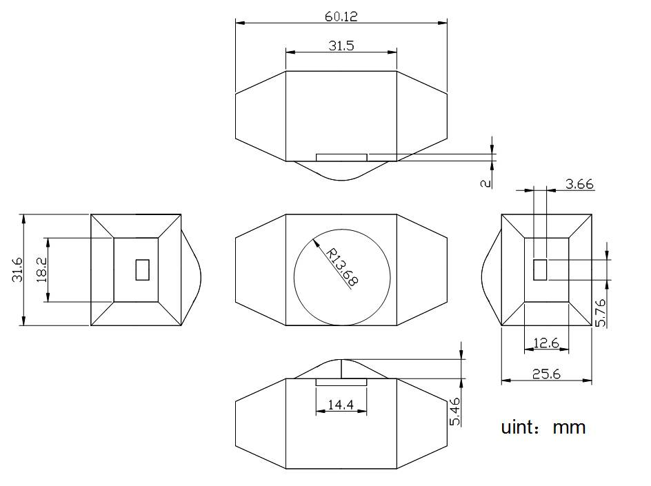 LED dimmer with rotary knob 12V-24V, 2A