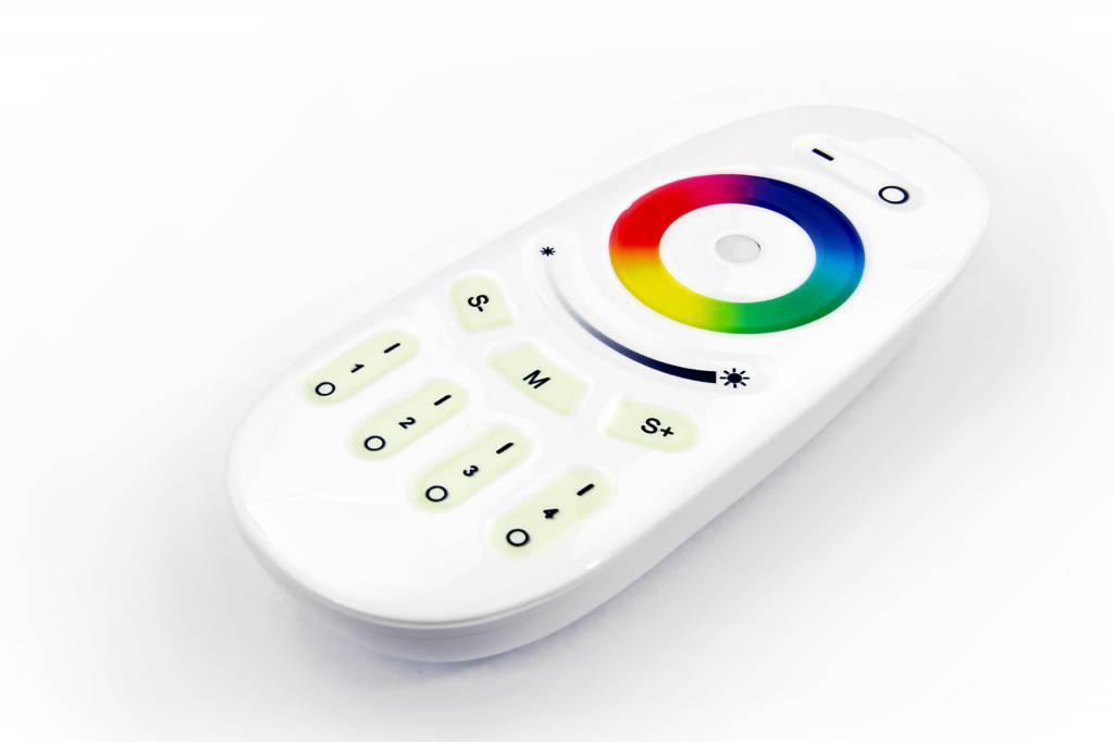 Applamp Set Of 6 Rgbw 6 Watt E27 Led Light Bulbs Remote Control