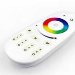 AppLamp Set of 6 RGBW 5 Watt E14 LED light bulbs + remote control