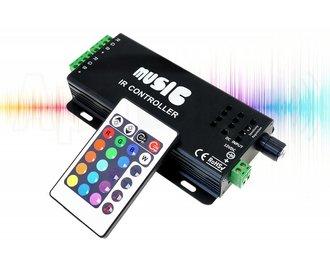 RGB Music LED strip controller