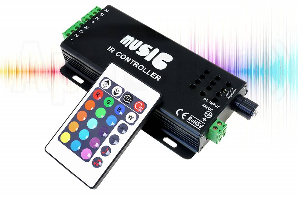 RGB Music LED strip controller