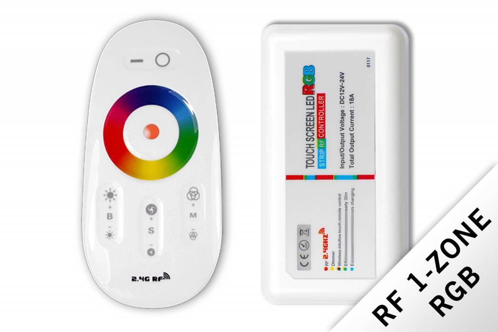 applamp rf rgb led strip controller rf remote control 18a 12v applamp. Black Bedroom Furniture Sets. Home Design Ideas