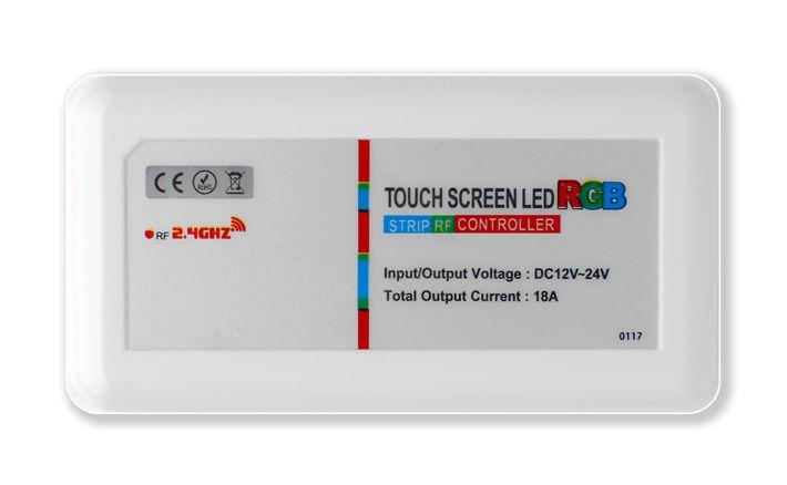 AppLamp RF RGB LED strip controller + RF remote control 18A 12V