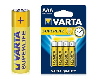 Batteries 1,5Volt AAA, 4pcs