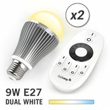 AppLamp AppLamp Set with 2 Dual White LED bulbs + Remote control