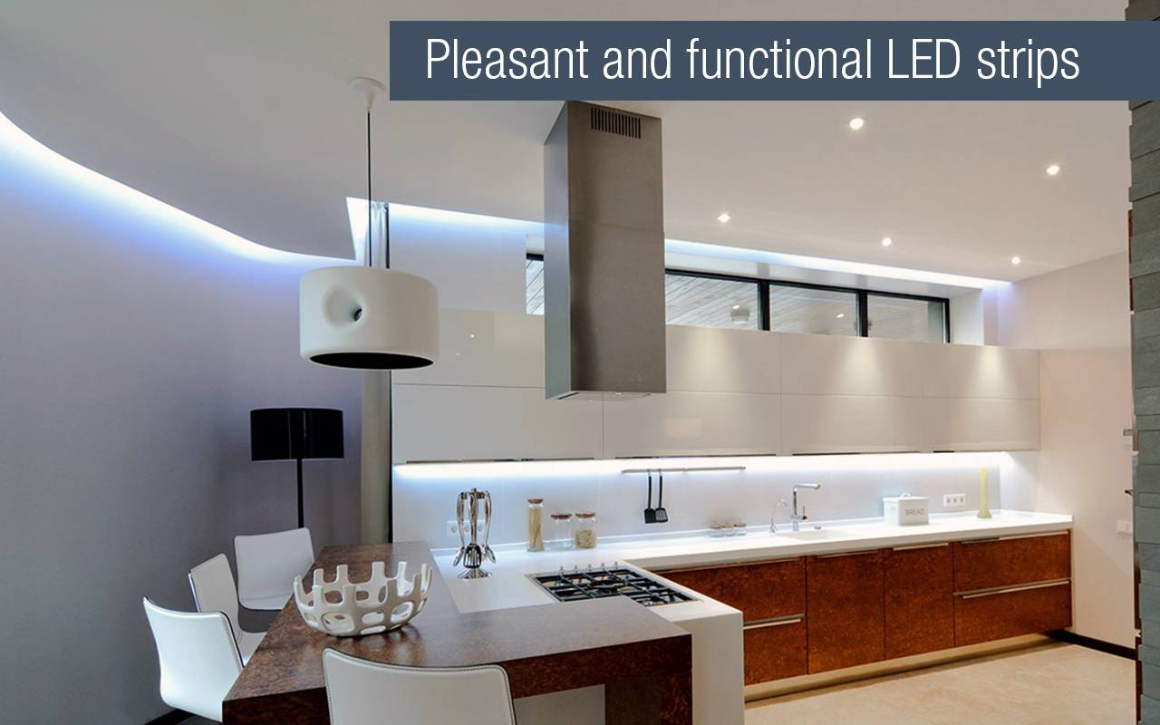 Interior Led Lighting For Homes | Applamp Control Wifi Led Light Via Smartphone Tablet Or Remote