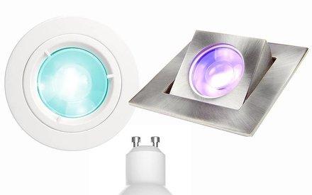GU10 LED Spot recessed fixtures