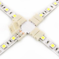 White LED strip accessories