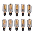 E27 Decoratieve kooldraad lamp actie 10 stuks!