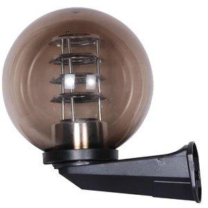 Bol wandlamp smoke 25∅ + raster
