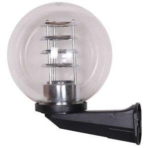Bol wandlamp helder 25∅ + raster