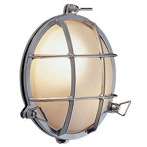 Bullseye wandlamp chroom 21,5cm Ø