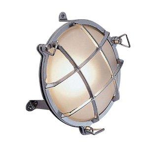 Bullseye wandlamp chroom 17.5cm Ø+voet