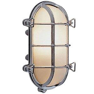 Bullseye wandlamp chroom 26.2cm