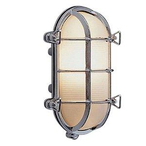 Bullseye wandlamp chroom 23.5cm