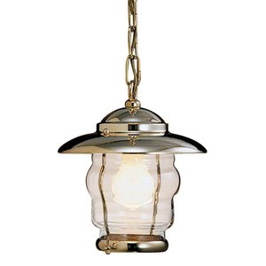 Outlight Maritieme lamp Hanglamp messing aan ketting La. 2077B.LT