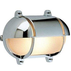 Wandlamp Bullseye scheepslamp chroom 27.4 cm