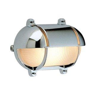 Wandlamp Bullseye Scheepslamp chroom 21cm