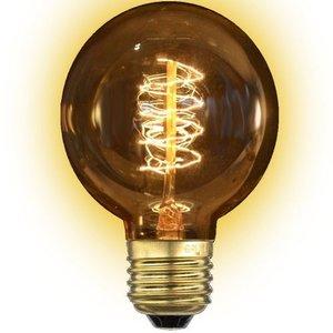 E27 kooldraadlamp 40 Watt Gold Globe